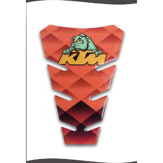 Customize Bull Dog Universal Tank Pad Sticker For KTM Bikes