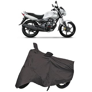 De Autocare Premium Quality Grey Matty Two Wheeler Bike Body Cover For Honda Unicorn
