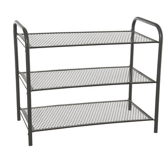 3 Tier Multi Utility Rack Grey - Eurostar