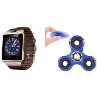 Zemini DZ09 Smart Watch and Fidget Spinner for HTC DESIRE 7088(DZ09 Smart Watch With 4G Sim Card, Memory Card| Fidget Spinner)