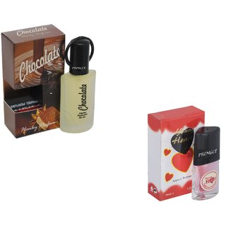 Set of 2 Chocolate-Younge Heart Red Perfume
