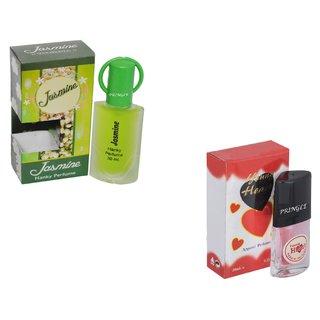Set of 2 Jasmine-Younge Heart Red Perfume