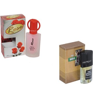 Set of 2 Rose-The Boss Perfume