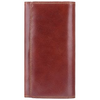 Visconti Florence Bi-Fold Brown Genuine Leather Purses For Woman