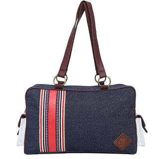 Denim blue Travel bag