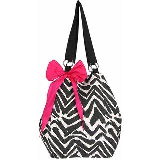 Jholi bag with pink bow