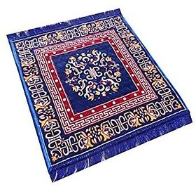 Shop By Room Puja Aasan/Mat - 20 inch x 20 Inch (Set of 2)
