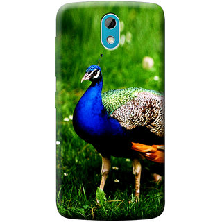 the latest 62403 d9937 Mobile Cover Printed Back Cover For HTC Desire 526G+