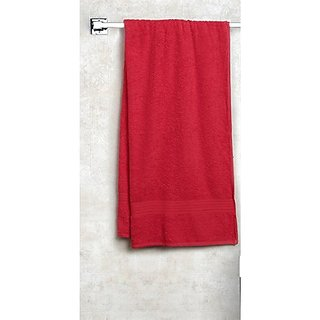Shop By Room Premium Quality 450 Gsm Bath Towel for Kids - Maroon