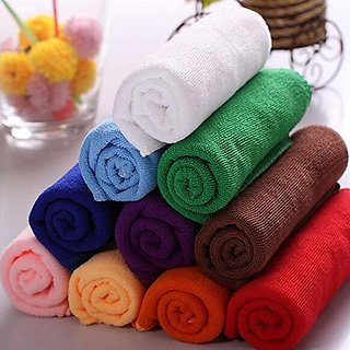 Shop By Room Soft Cotton Kitchen towel Set of 5 - Assorted Color (20 Inch x 12 Inch )