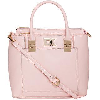 Diana Korr Womens Handbag (Pink) (DK118HLPNK)