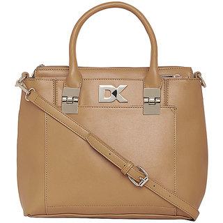 Diana Korr Womens Handbag (Tan) (DK118HTAN)