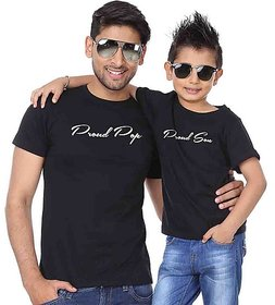 Melcom Proud Dad and Son Tees combo