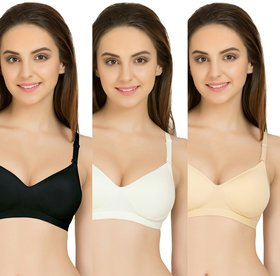 Kg fashions Super fit Bra Pack of 3