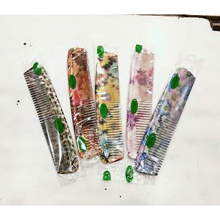 Multicolor comb set of 5 pc