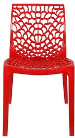 Supreme Chairs Sets of 4 in Red