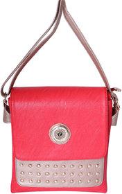 Eleegance Red Designer Sling Handbag