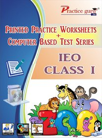 Latest, updated and Best quality 15 Printed worksheets and 25 Topic wise tests (Computer based) for IEO Class 1