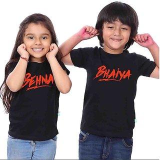 Bhaiyya Behna Tees Combo
