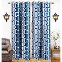 Feel Home's set of 5 long door curtains 9 FT (LLK5-004)