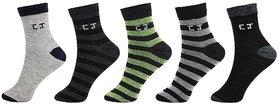 CalvinJones Unisex Ankle Socks - 5 Pair Pack