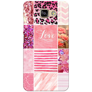 Samsung Galaxy C7 Pro Multi Color Pattern Printed Designer Back Cover By Prints Ways
