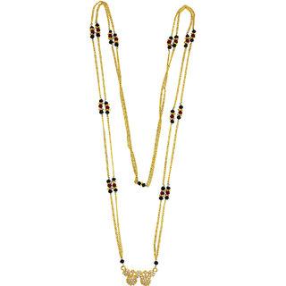Anuradha Art Golden Finish Waati Classy Designer  Mangalsutra For Women