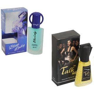 Combo Blue lady 30ml-Talk me30ml perfume