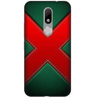 Akogare 3D Back Cover For Motorola Moto M BAEMOM1746