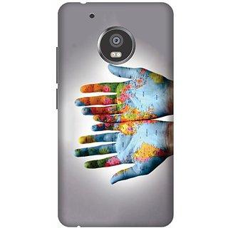 Akogare 3D Back Cover For Motorola Moto G5 Plus BAEMOG51716