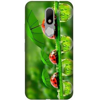 Akogare 3D Back Cover For Motorola Moto M BAEMOM1765