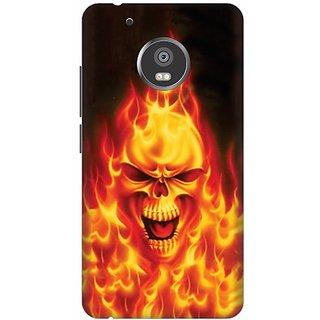 Akogare 3D Back Cover For Motorola Moto G5 Plus BAEMOG51794