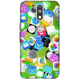 Akogare 3D Back Cover For Motorola Moto G4 Plus BAEMG4P1537