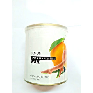 ELEGANCIO Estavito Hydro Liposoluble Lemon Hot Wax. 600 Ml