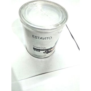 ELEGANCIO Estavito Hydro Liposoluble Charcoal Hot Wax. 600 Ml