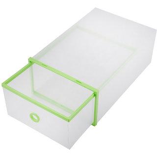 1pcs Multifunction Plastic Shoe Box Transparent Crystal Storage Shoebox Household DIY clamshell shoebox Storage box  sc 1 st  Shopclues & Buy 1pcs Multifunction Plastic Shoe Box Transparent Crystal Storage ...