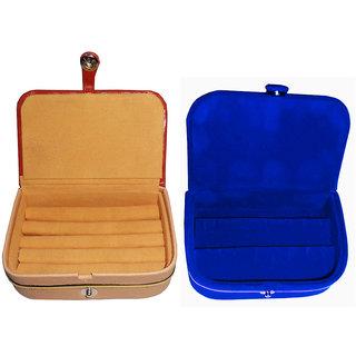Abhinidi combo deal blue ring box u0026 blue earring vanity box  sc 1 st  ShopClues.com & Abhinidi combo deal blue ring box u0026 blue earring vanity box: Buy ... Aboutintivar.Com