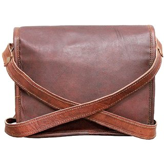 3836d34cf8 Leather Full Flap Messenger Handmade Bag Laptop Bag Satchel Bag Padded  Messenger Bag School Bag 7X9X4