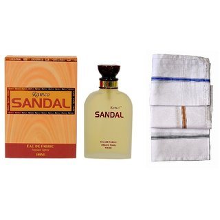 Ramco Woody Sandal Perfume 100ML 3 Men Cotton Handkerchiefs