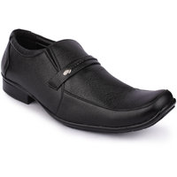 Action Men'S Black Formal Slip On Shoes - 123729398