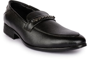 Action Men'S Black Formal Slip On Shoes - 123729343