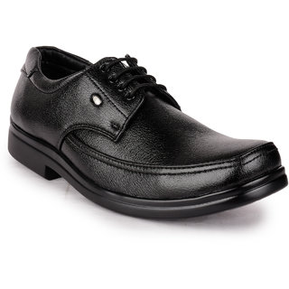 Action MenS Black Formal Lace-Up Shoes