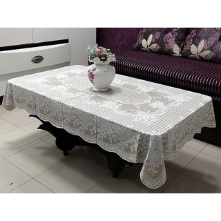 Table Cloth 36 X 54 Rectangle Katwa Clasic Lace Vinyl Tablecloth Beige Online Get 57 Off
