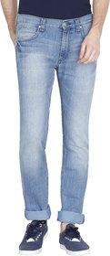 Lee Men's Blue Green Slim Fit Jeans