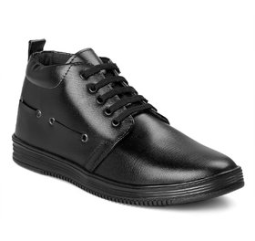 Shoeson Men's Black Casual Boot