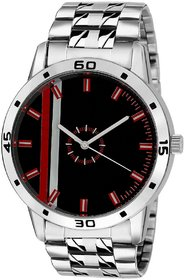True colors Original  Silver Steel Chain Day and Date Multifunction Chronograph Wrist Watch for Men - TA-1024