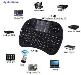 Mini Wireless Keyboard With Touchpad/Backlit Light & Wi