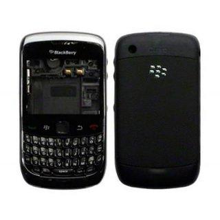 Full Body Housing Panel For BlackBerry Curve 9300(BLACK)