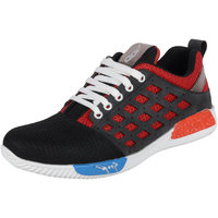 AADI BLACK & RED SPORTS SHOES