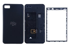 Full Body Housing Panel For BlackBerry Z10 ( BLACK)